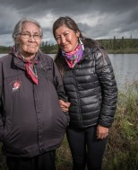 Peel Watershed Portrait Exhibit in Whitehorse image