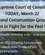 MEDIA ADVISORY: Peel Watershed at Supreme Court image