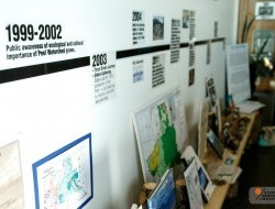 A retrospective exhibit captures all of the big moments from the Peel campaign