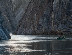 Hundreds of paddlers travel into the Peel Watershed every summer © Peter Mather -